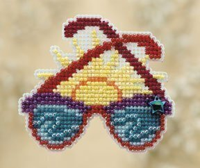 Shades - Beaded Cross Stitch Kit
