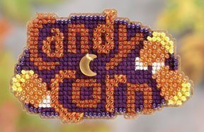 Candy Corn - Beaded Cross Stitch Kit