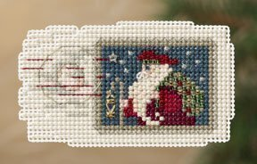 Holiday Stamp - Beaded Cross Stitch Kit