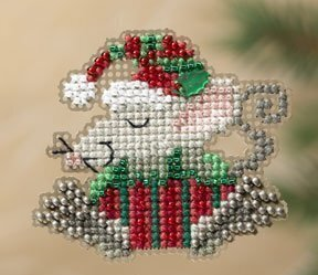 Kris Mouse - Beaded Cross Stitch Kit