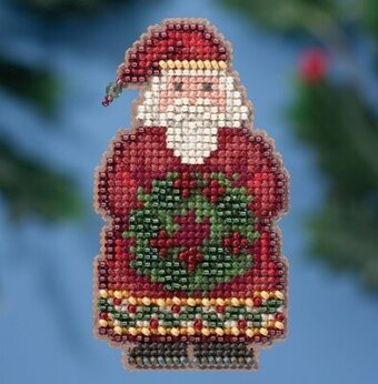 Ye Old Santa - Beaded Cross Stitch Kit