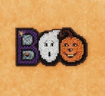 Boo - Beaded Cross Stitch Kit