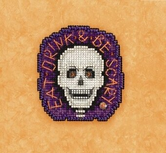Be Scary - Beaded Cross Stitch Kit