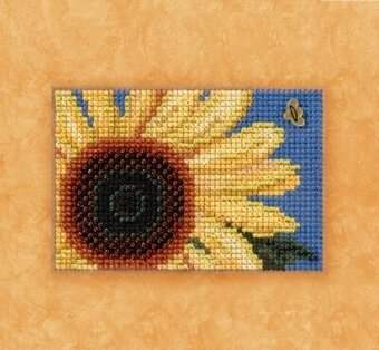 Autumn Gold - Beaded Cross Stitch Kit