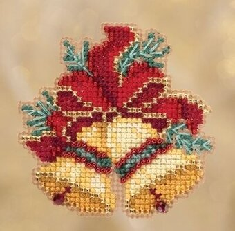 Christmas Bells - Beaded Cross Stitch Kit