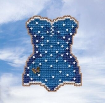 Swimsuit - Beaded Cross Stitch Kit