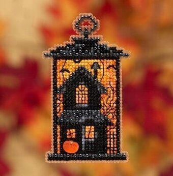 Moonstruck Manor - Beaded Cross Stitch Kit