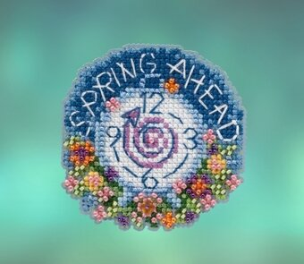 Spring Forward - Beaded Cross Stitch Kit