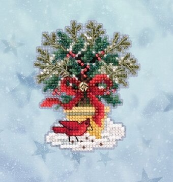 Evergreen Topiary (2020) - Beaded Cross Stitch Kit