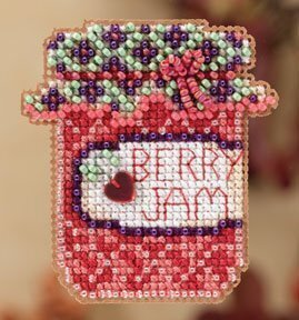 Berry Jam - Beaded Cross Stitch Kit