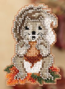 Squirrelly - Beaded Cross Stitch Kit