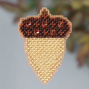 Acorn - Beaded Cross Stitch Kit
