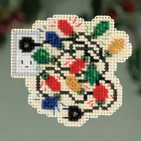 Christmas Lights - Beaded Cross Stitch Kit