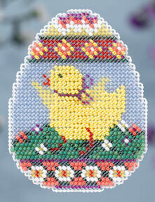 Chick Egg - Beaded Cross Stitch Kit