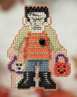 Monster Mash - Beaded Cross Stitch Kit