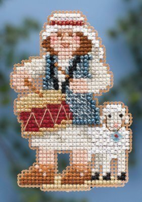 Drummer Boy - Beaded Cross Stitch Kit