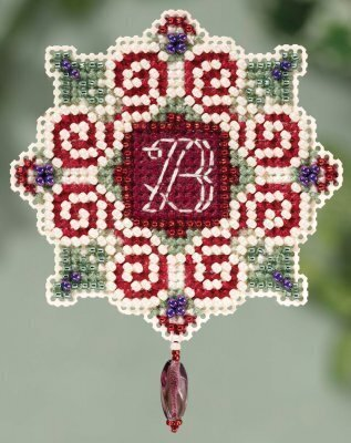 Christmas Letter - Beaded Cross Stitch Kit