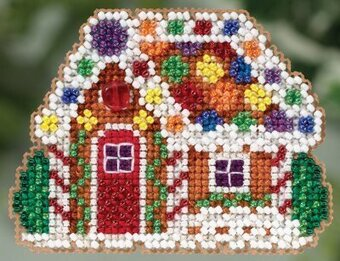 Gingerbread Cottage - Beaded Cross Stitch Kit