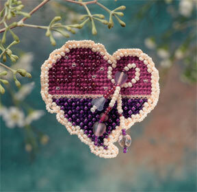 Treasured Heart (beaded kit)