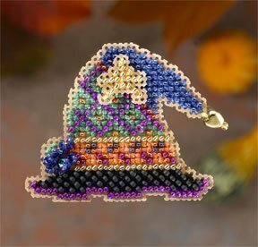 Wanda's Hat - Beaded Cross Stitch Kit