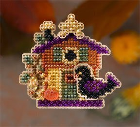 Halloween House - Beaded Cross Stitch Kit