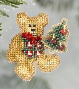 Teddy's Tree 2006 - Beaded Cross Stitch Kit