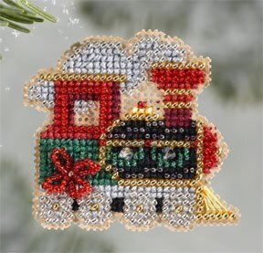 Holiday Express - Beaded Cross Stitch Kit
