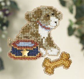 My Best Friend - Beaded Cross Stitch Kit