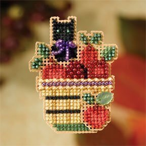 Apple Basket - Beaded Cross Stitch Kit