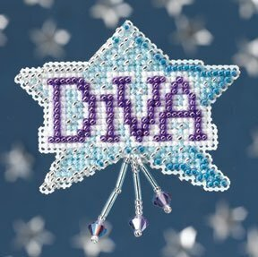 Diva - Beaded Cross Stitch Kit