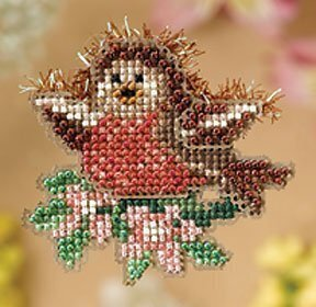 Rockin' Robin - Beaded Cross Stitch Kit