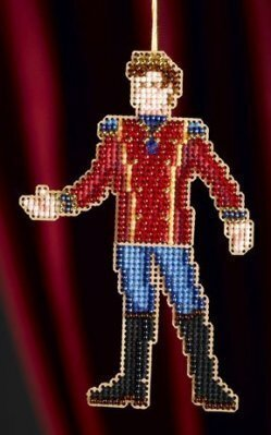 Prince - Beaded Cross Stitch Kit