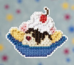 Banana Split - Beaded Cross Stitch Kit