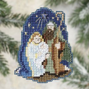 Nativity - Beaded Cross Stitch Kit