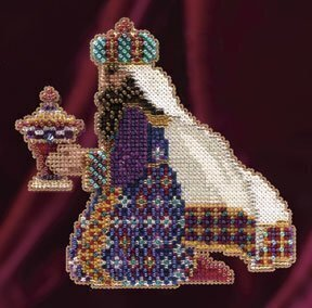 Melchior - Beaded Cross Stitch Kit
