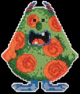 Spot Little Monsters - Beaded Cross Stitch Kit