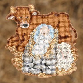 Baby Jesus - Cross Stitch Kit