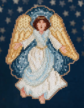 Gloria - Nativity Trilogy - Beaded Cross Stitch Kit