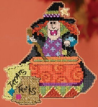 Miranda Hocus Pocus Trilogy - Beaded Cross Stitch Kit