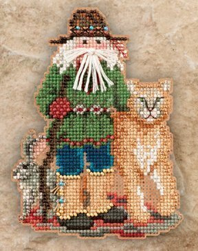 Canyon Santa - Beaded Cross Stitch Kit