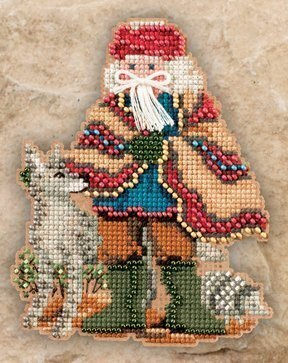 Mesa Santa - Beaded Cross Stitch Kit