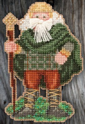 Ireland Santa (2015) - Beaded Cross Stitch Kit