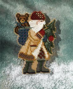 Allegheny Santa - Appalachian Santas Beaded Cross Stitch Kit