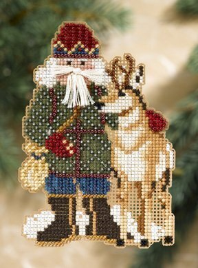 Beartooth Santa - Rocky Mountain Santas - Cross Stitch Kit
