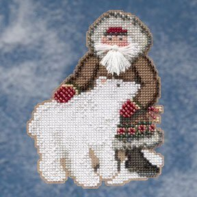 Nunavut Santa - Arctic Circle - Beaded Cross Stitch Kit