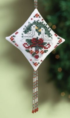 Doves - Beaded Cross Stitch Kit