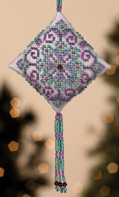 Royal Orchid - Beaded Cross Stitch Kit