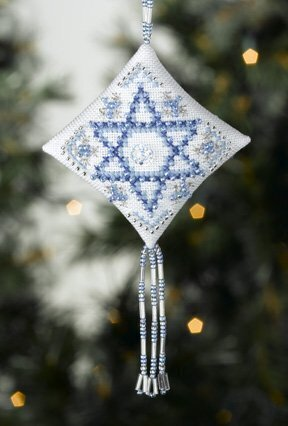 Star of David - Beaded Cross Stitch Kit