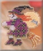 Broom Ride - Beaded Cross Stitch Kit