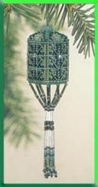 Willow Tassel Ornament Cross Stitch Kit
